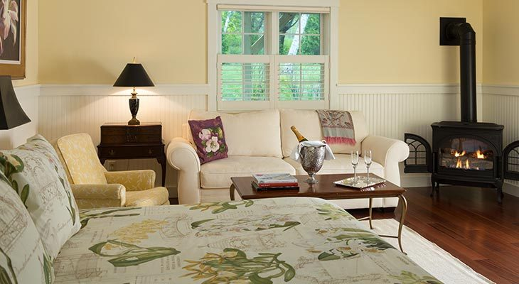 Garden House Suite at our Maine Coast Bed and Breakfast
