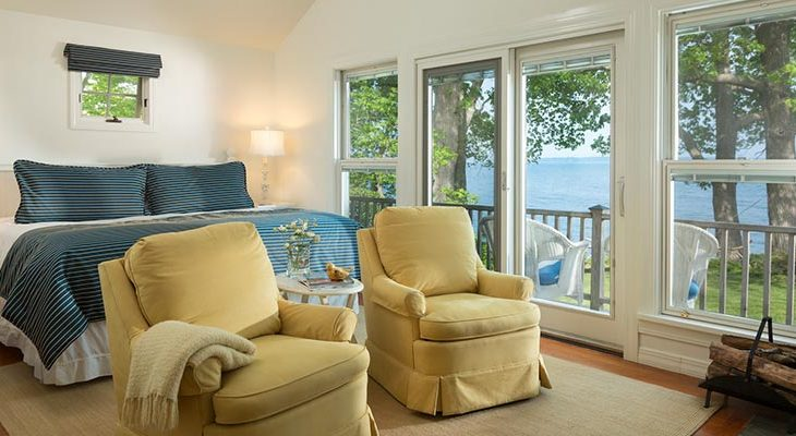 Ocean views from our Maine oceanfront bed and breakfast