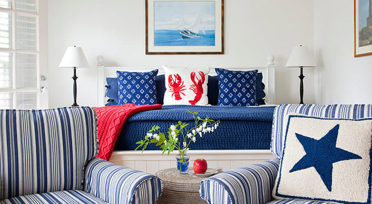 Oceanfront Maine Cottages - the Hopper rooms