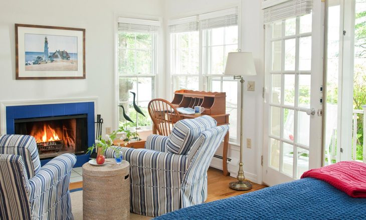 Overview of our Oceanfront Maine Cottage