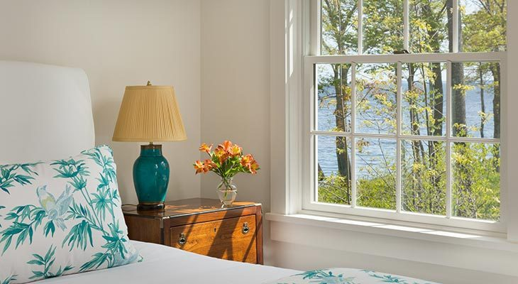 Longfellow Suite at our bed and breakfast in Lincolnville, Maine