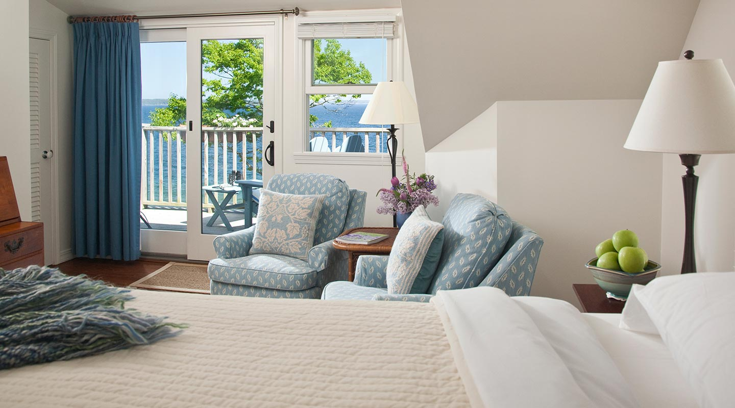 Amazing rooms in our Oceanfront Maine B&B