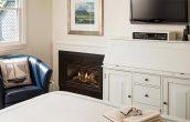 EB White Fireplace