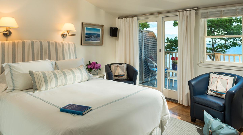 The E.B. White Room at our Coastal Maine Inn