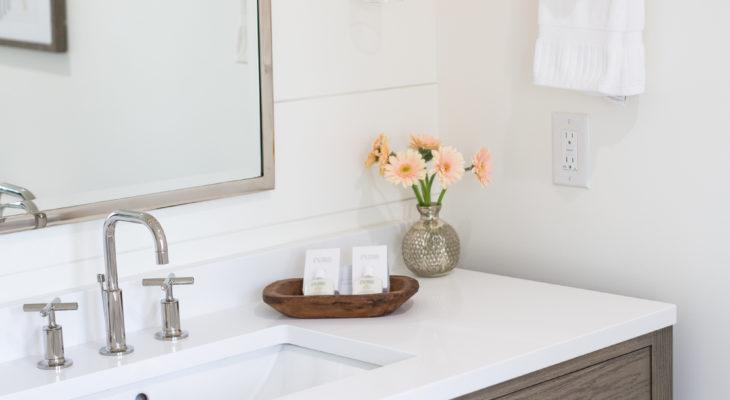 Soaking tub in the Carson Bathroom