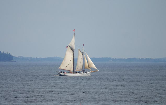 Historic Schooner cruises from Camden Maine