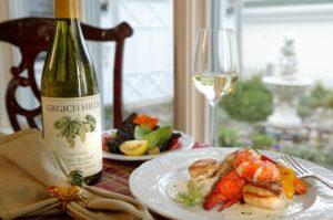 Romantic Lobster Dinner in Maine