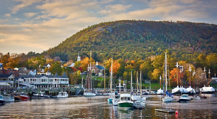 Explore Camden during your Girls Getaway in Maine