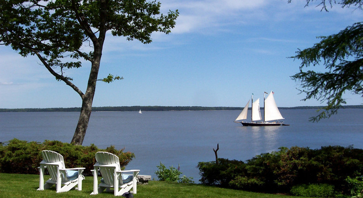 Sail Away in Midcoast Maine on your Girls Getaway
