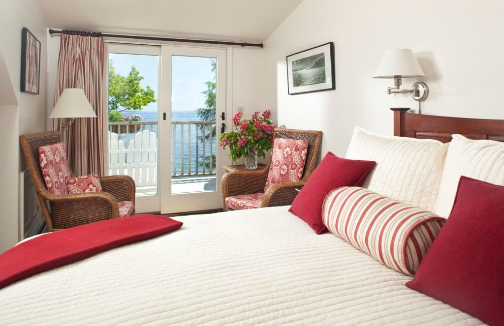 Comfortable Guest Room at the Inn at Sunrise Point
